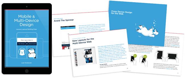 Mobile and Multi device design free web design book download