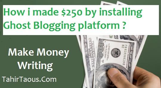 make money writing